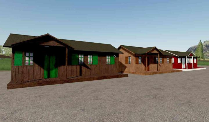 FS19 - Holiday Home Wood Pack V1