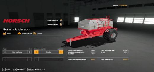 Photo of FS19 – Horsch Anderson V1