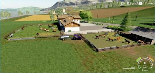 Photo of FS19 – Horse Places For The Horseranch In Felsbrunn V1