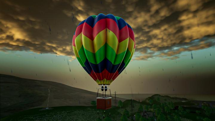 FS19 - Hot Air Balloon V1