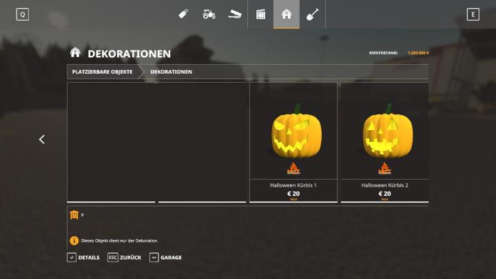 FS19 - Hot Pumpkins For Halloween V1