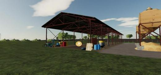 Photo of FS19 – Hungarian Workshop And Shed V1