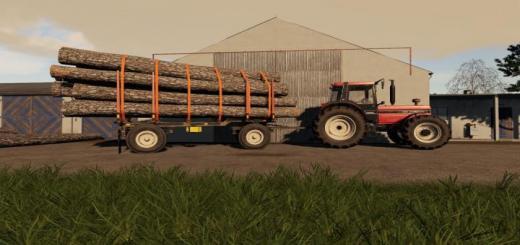 Photo of FS19 – Hw80 Wood Trailer V1