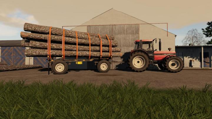 FS19 - Hw80 Wood Trailer V1