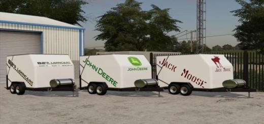 Photo of FS19 – Jack Moose Mow-It Trailers V1