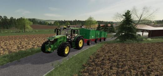 Photo of FS19 – John Deere 6140/6150R V1.0.0.4