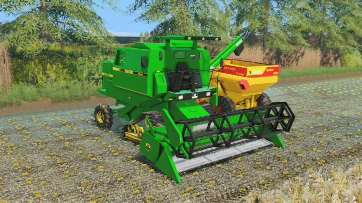 FS19 - John Deere 6200, 213, 216 And 4209 V1.1