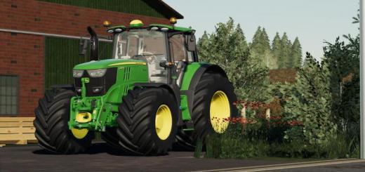 Photo of FS19 – John Deere 6M (2015 And 2020) V1