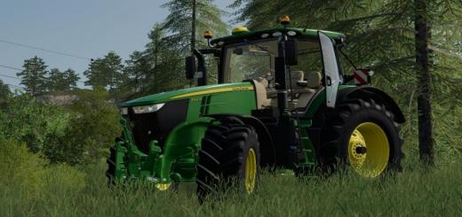Photo of FS19 – John Deere 7R With Sic Including Sound V1