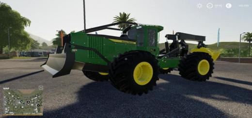 Photo of FS19 – John Deere 948Lii Winch V1.0.0.1