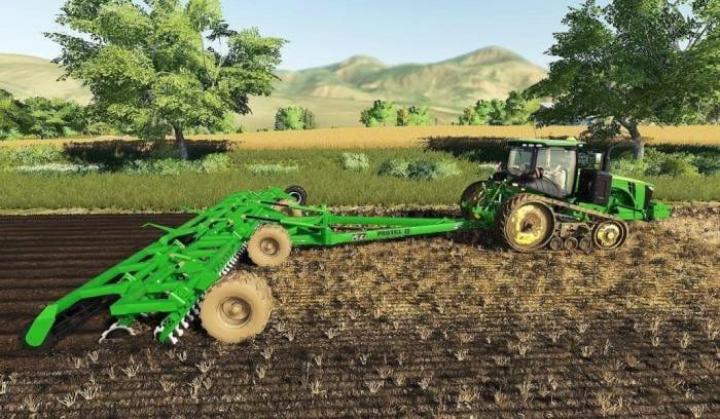 FS19 - John Deere Protill 40 Plow Function V1