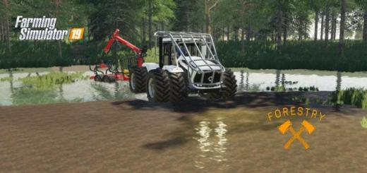 Photo of FS19 – Kirovets K7 Forestry V2