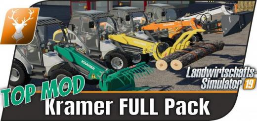 Photo of FS19 – Kramer Pack V1.1.1
