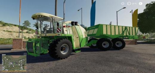 Photo of FS19 – Krone Big X 1180 Cargo Converted V1