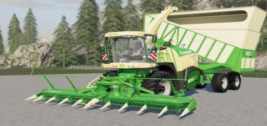 Photo of FS19 – Krone Big X 580 Cargo V2