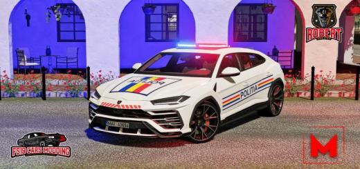 Photo of FS19 – Lamborghini Urus Politia V1