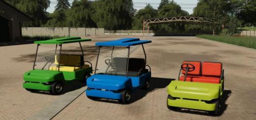 Photo of FS19 – Lizard Golf Cart V1