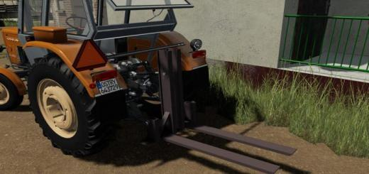 Photo of FS19 – Lizard Pallet Fork V1