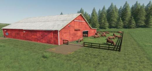 Photo of FS19 – Lone Oak Cow Husbandry V1.1