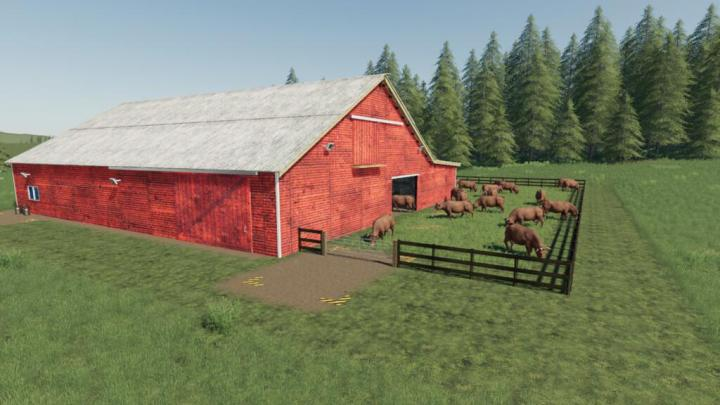 FS19 - Lone Oak Cow Husbandry V1.1