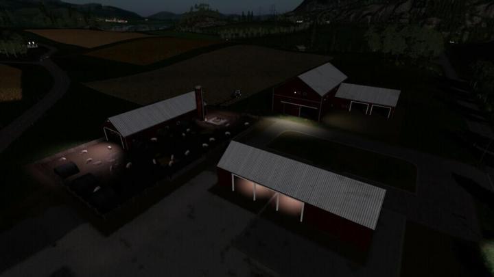 FS19 - Lone Oak Pig Farm Pack V1.1