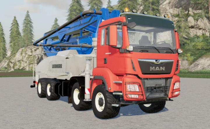 FS19 - Man Tgs Concrete Pompe V2