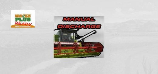 Photo of FS19 – Manual Discharge V1.1