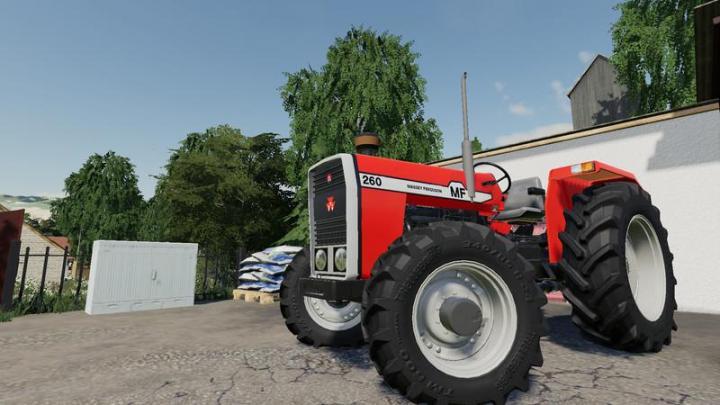 FS19 - Massey Ferguson 260 V1