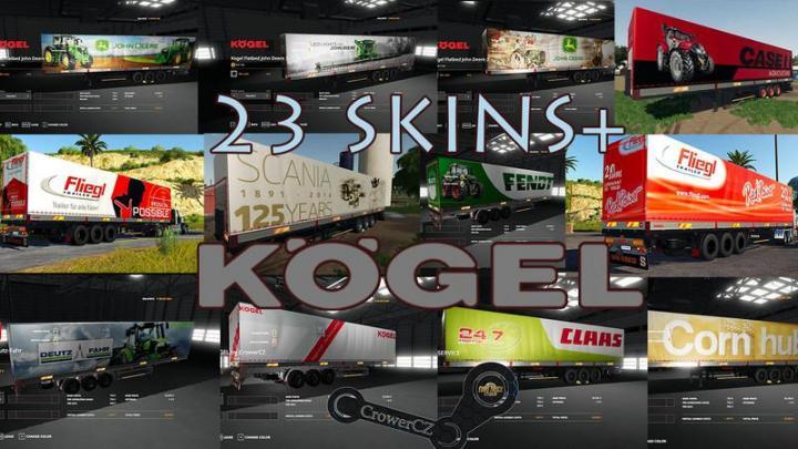 FS19 - Mega Pack Kogel Autoloader Trailers V1