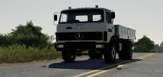 Photo of FS19 – Mercedes 817 Truck V1