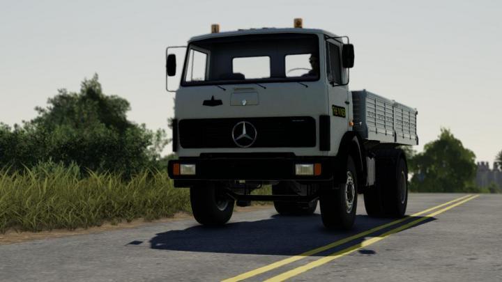 FS19 - Mercedes 817 Truck V1