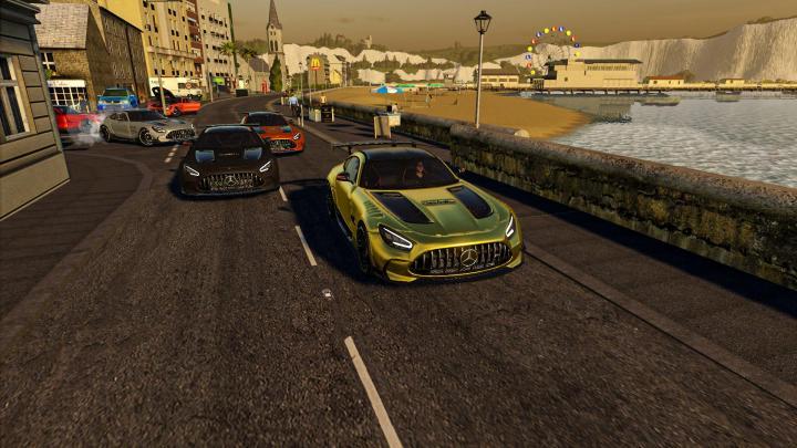 FS19 - Mercedes Amg Gt Black Series 2021 V1