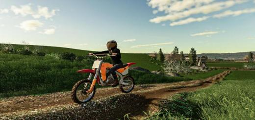Photo of FS19 – Motocross Dirt Bike V1