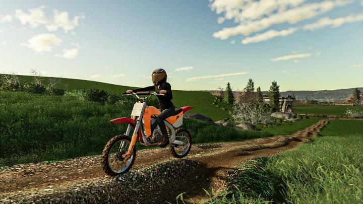 FS19 - Motocross Dirt Bike V1
