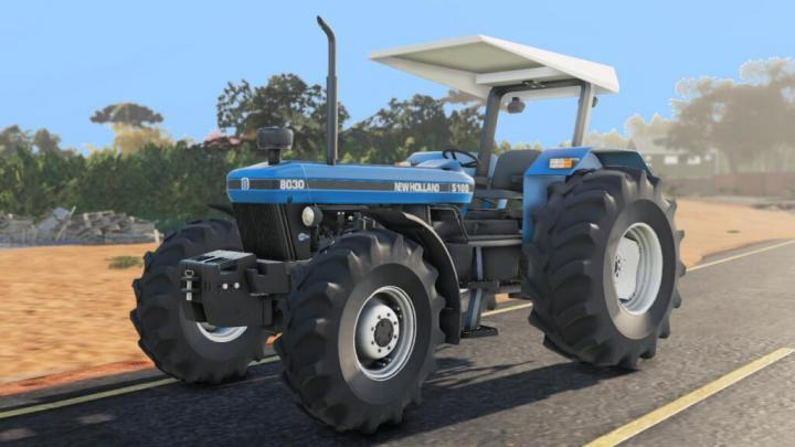 FS19 - New Holland 8030 Brazil Tractor V1