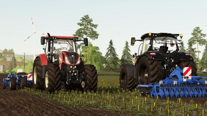 FS19 - New Holland T7 Lwb Stage V Tractor V1