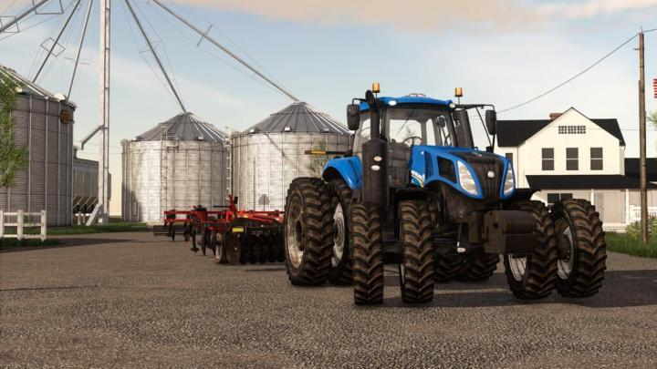 FS19 - New Holland T8 Us V1