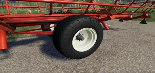 Photo of FS19 – Nokia Tractor Trailer Balloon Tires (Prefab) V1