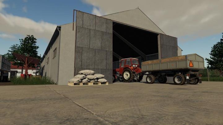 FS19 - Old Grain Storages Pack V1