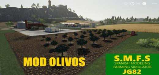 Photo of FS19 – Olive Tree Pack V1