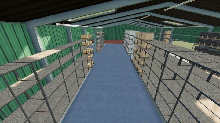 FS19 - Pallets High Shelf Storage V1.0.0.1