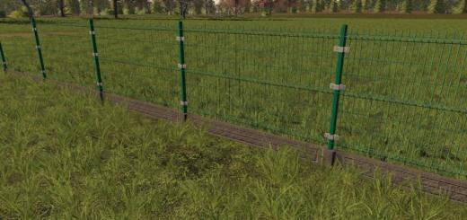 Photo of FS19 – Panel Fence And Gate V1