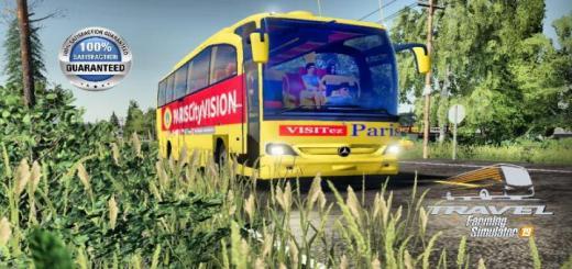 Photo of FS19 – Paris Vision Bus V2