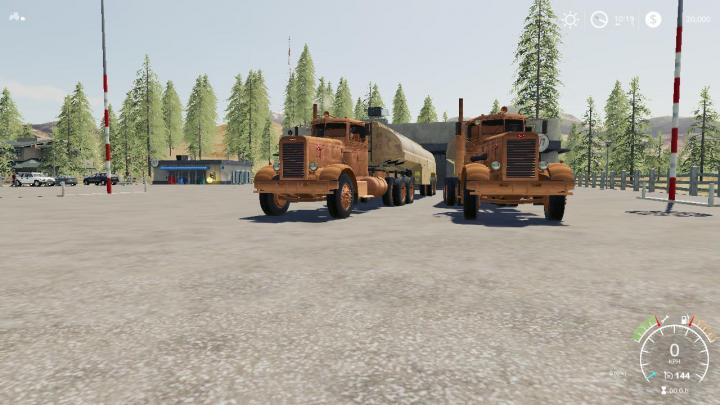 FS19 - Peterbilt 281 Duel V2