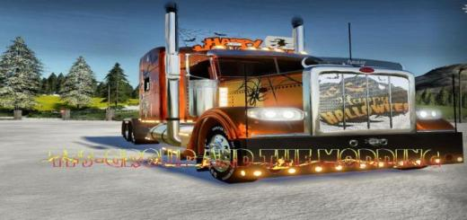 Photo of FS19 – Peterbilt Happy Halloween V2