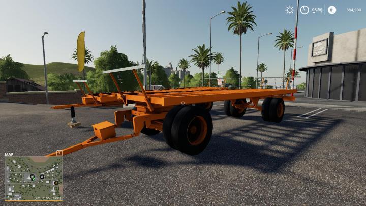 FS19 - Plateau Orange V1