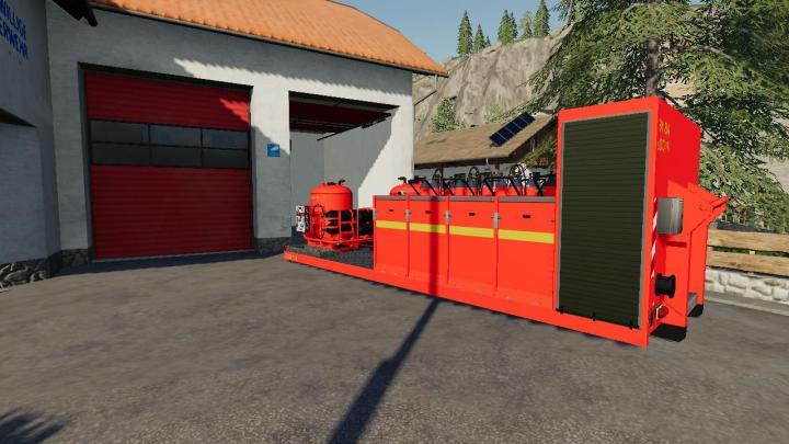 FS19 - Platforma Z Srodkami Gasniczymi V2