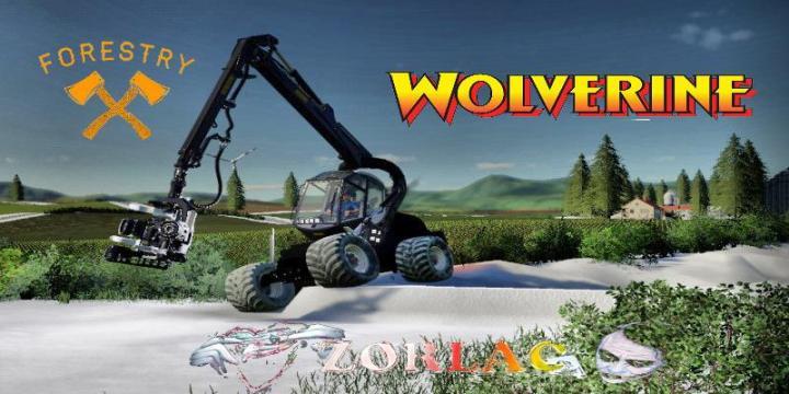FS19 - Ponsse Wolverine V1