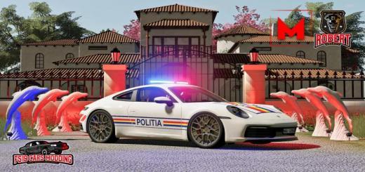 Photo of FS19 – Porsche Carrera4S Politia V1