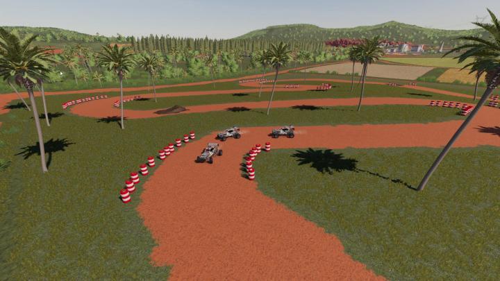 FS19 - Racetrack Tire Pile V1